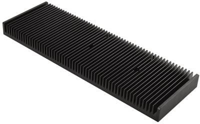 铝挤型材CNC加工散热片