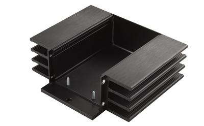 铝型材CNC加工散热片
